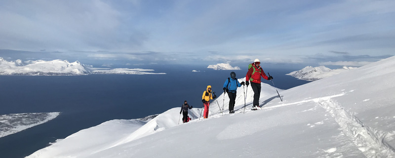 Genuss-Skitouren in Norwegen